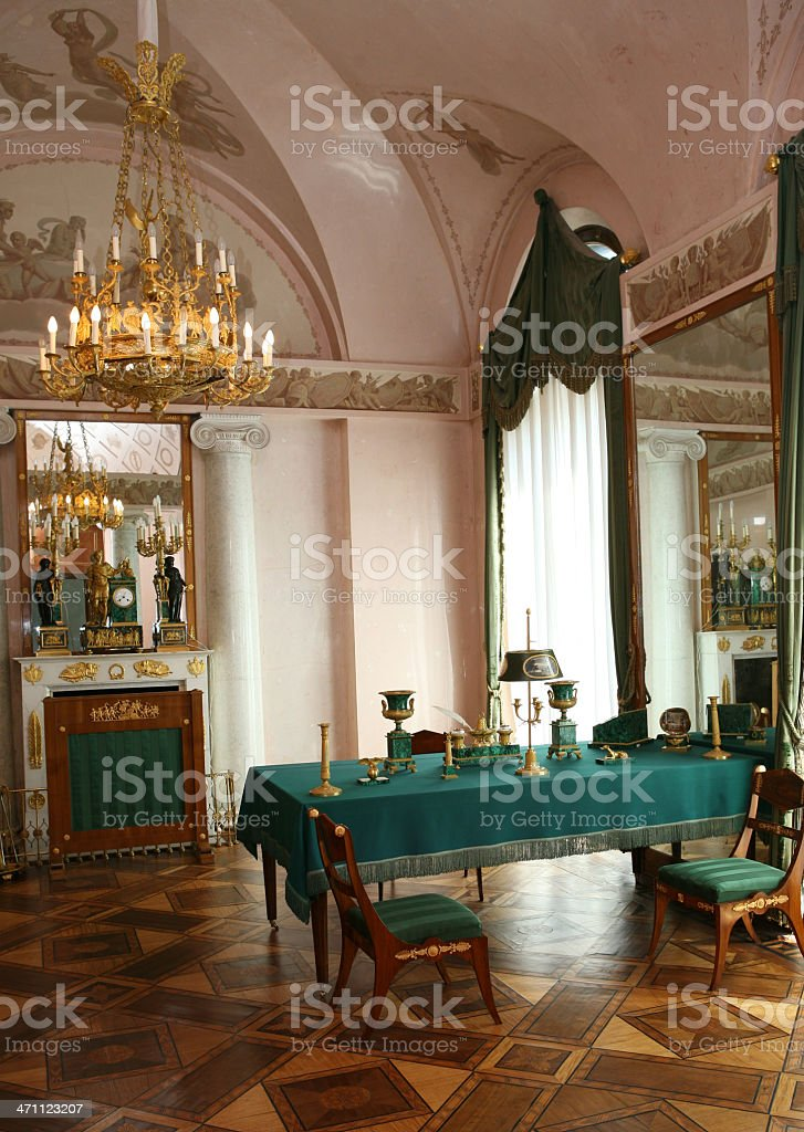 Katherines Palace, Pushkin, Russia royalty-free stock photo