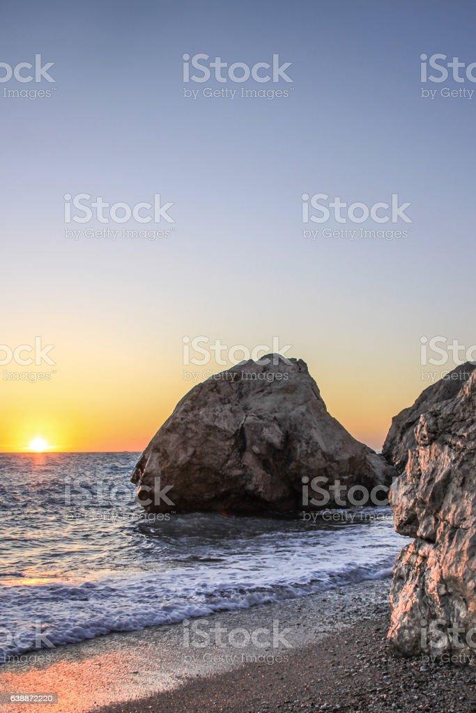 Kathisma Beach, Lefkada, Greece stock photo