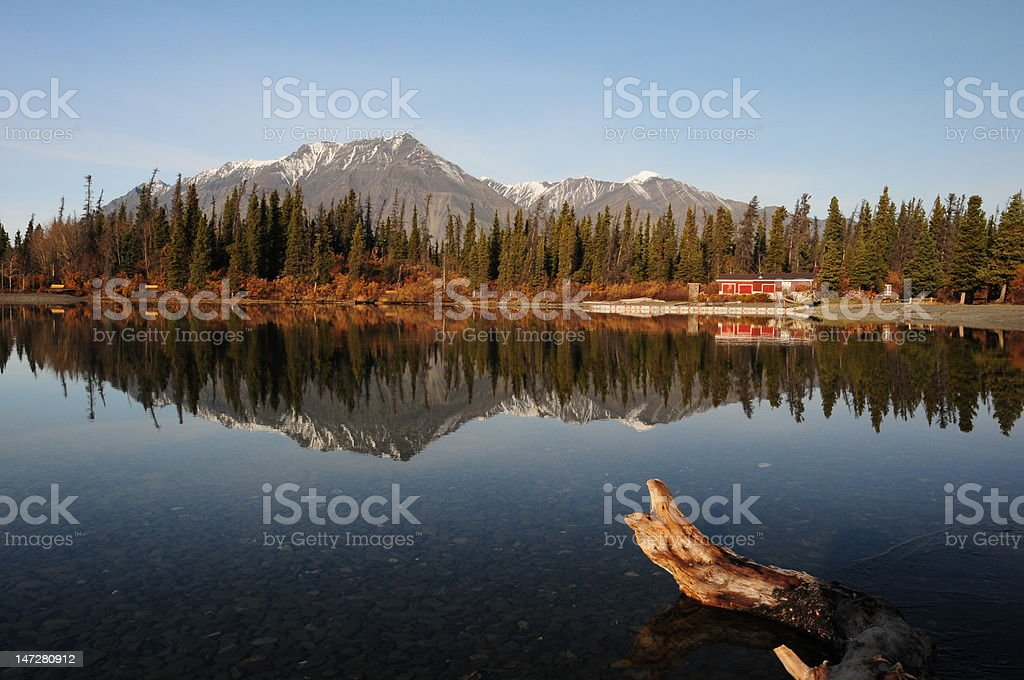 Kathleens Lake golden Circle stock photo