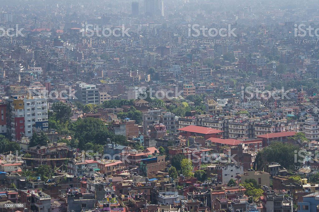Kathmandu Cityscape royalty-free stock photo