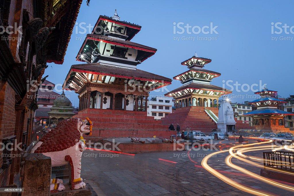 Kathmandu Durbar Square. stock photo