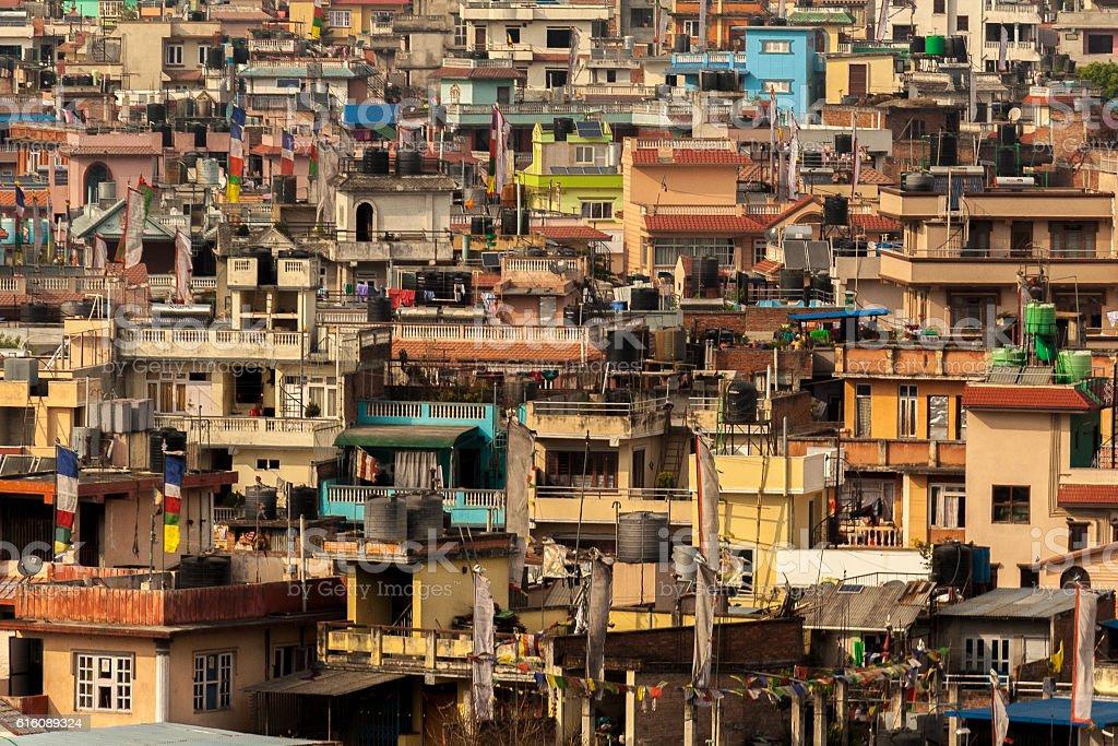 Kathmandu From Above stock photo