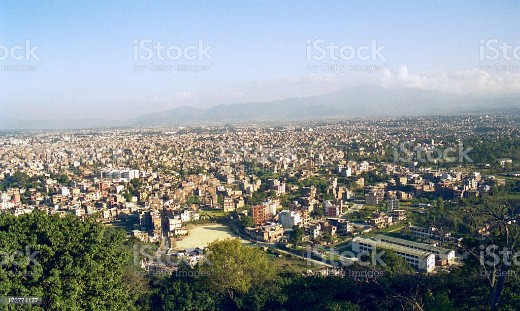 Kathmandu, Nepal stock photo