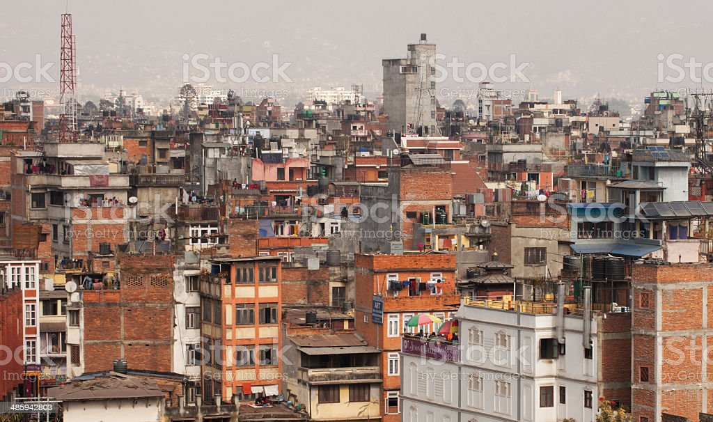 Kathmandu Nepal royalty-free stock photo