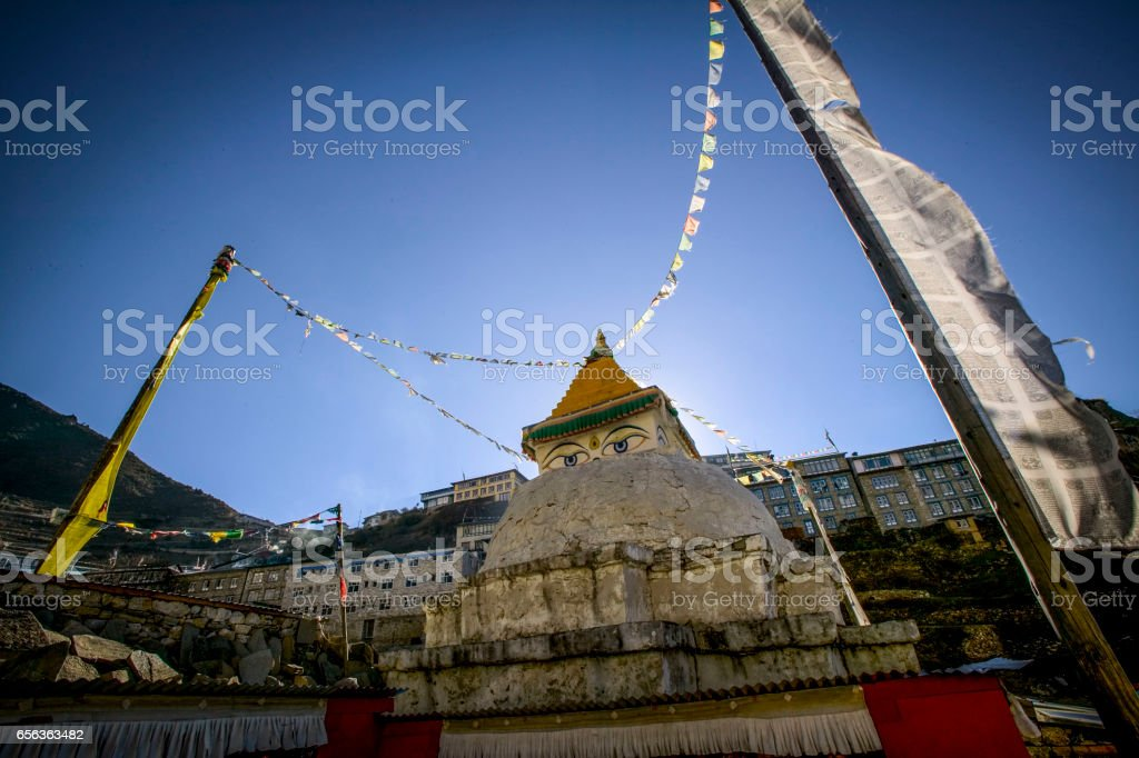 Kathmandu Nepal stock photo
