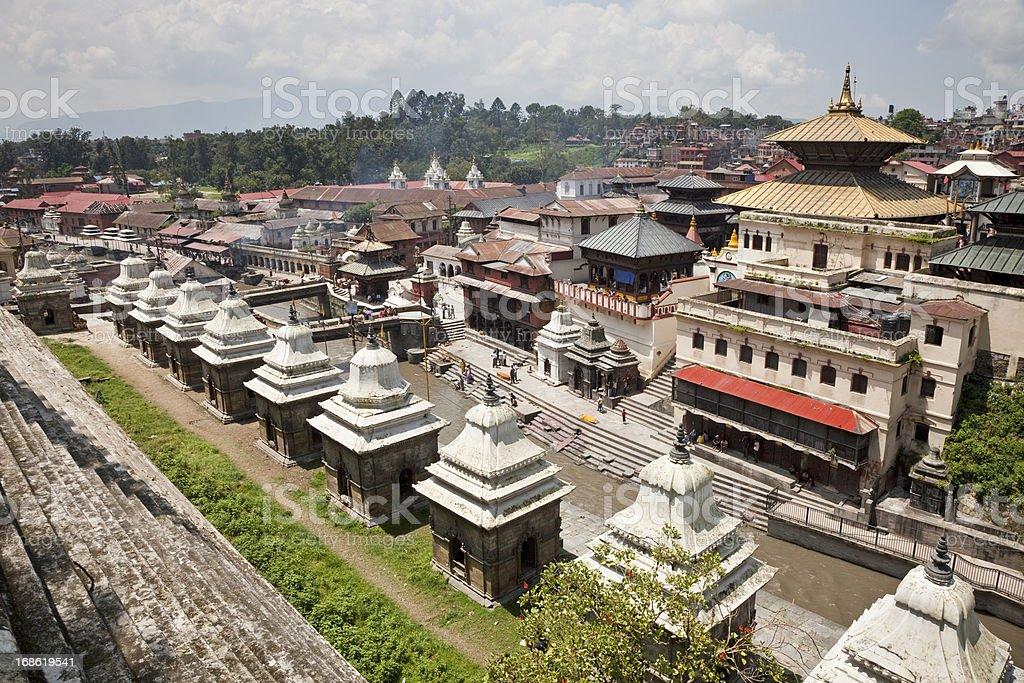 Kathmandu stock photo