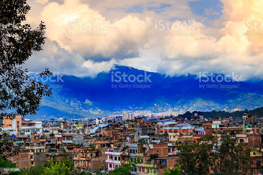 Kathmandu stock photo