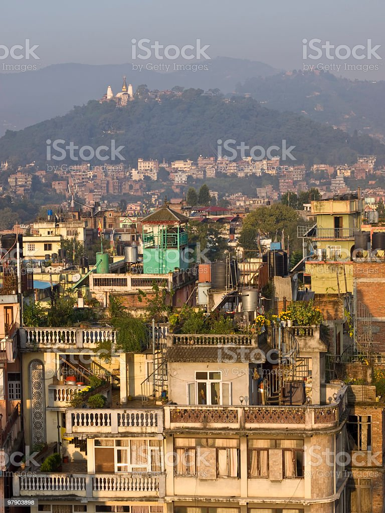 Kathmandu royalty-free stock photo