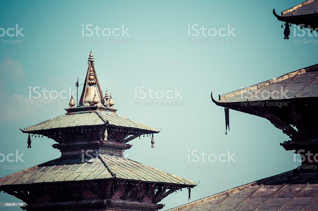 Kathmandu's Durbar Square, Nepal stock photo