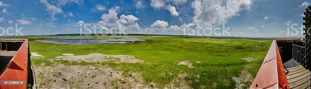Katinger Priel Panorama stock photo