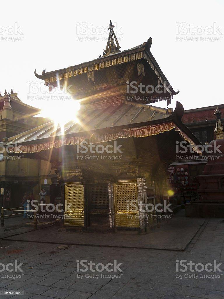 Katmandu royalty-free stock photo