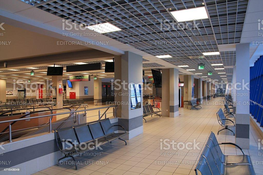 Katowice Airport, Poland royalty-free stock photo