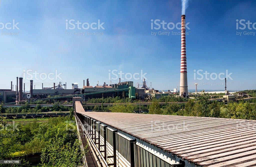 Katowice Steelworks, Poland stock photo
