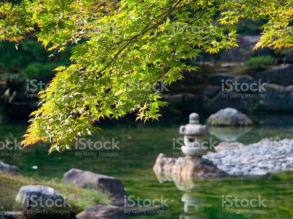 Katsura Imperial Villa Garden royalty-free stock photo