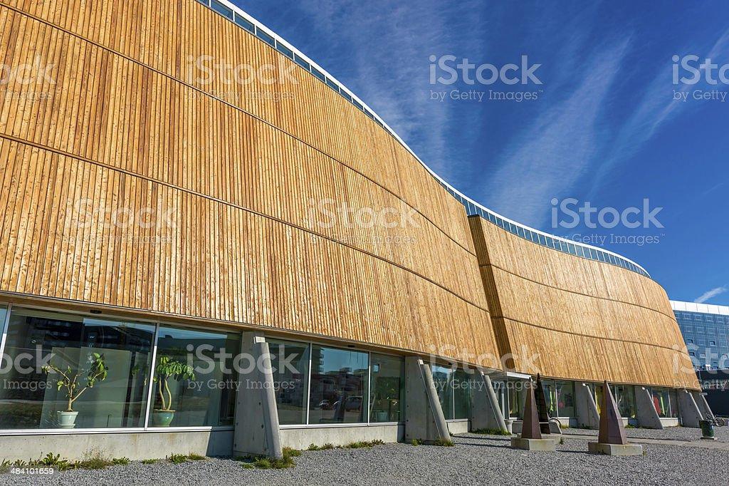 Katuaq Nuuk Godthab Modern Architecture, Greenland stock photo