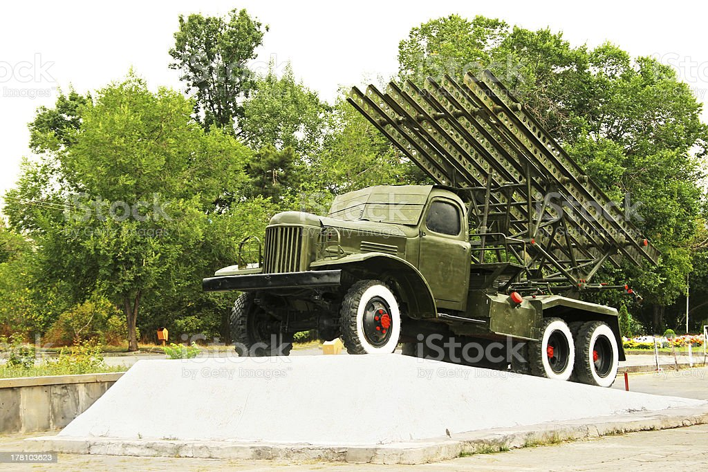 Katyusha stock photo