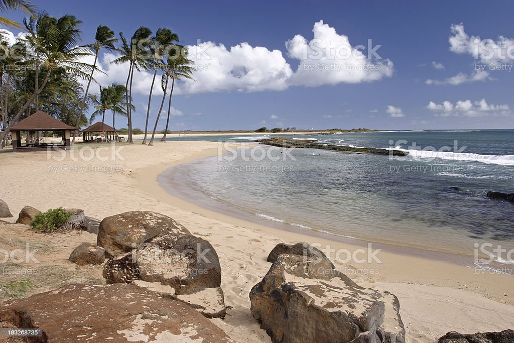 Kauai postcard royalty-free stock photo