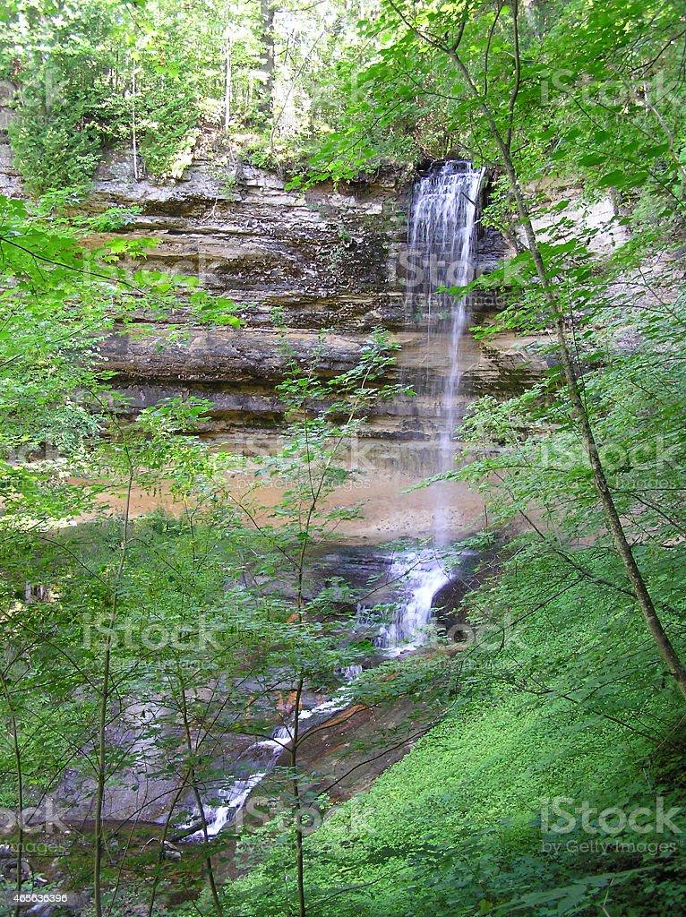 Kauai Waterfalls stock photo