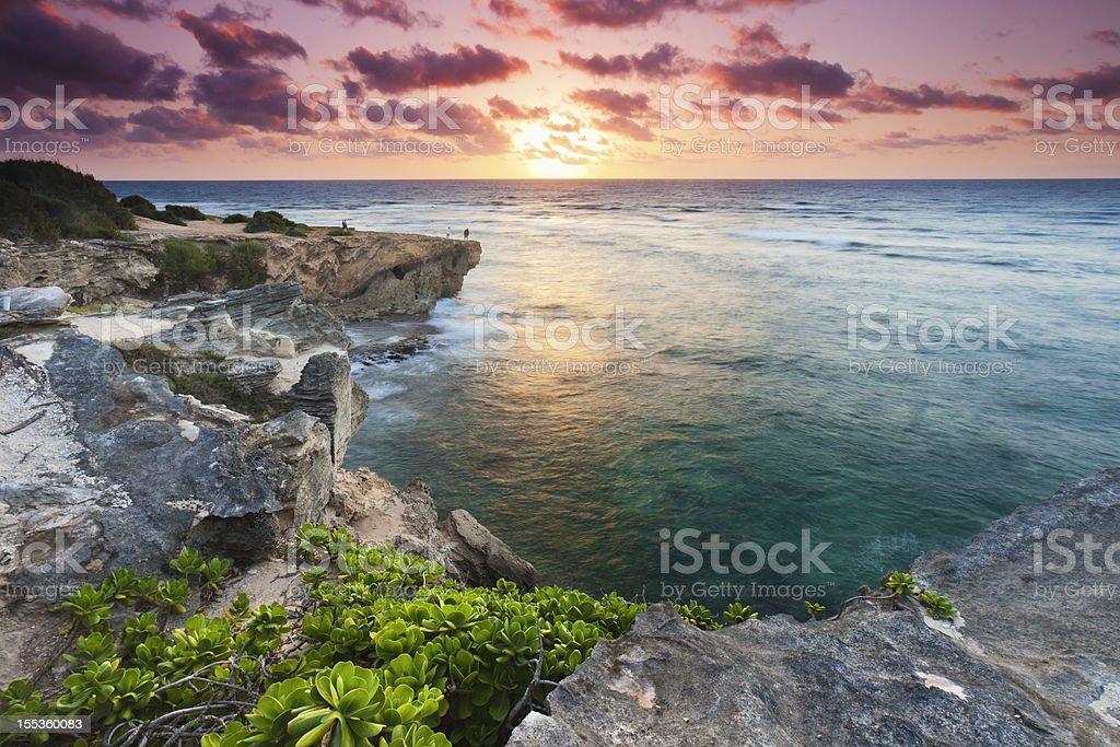 Kauaian Sunrise royalty-free stock photo