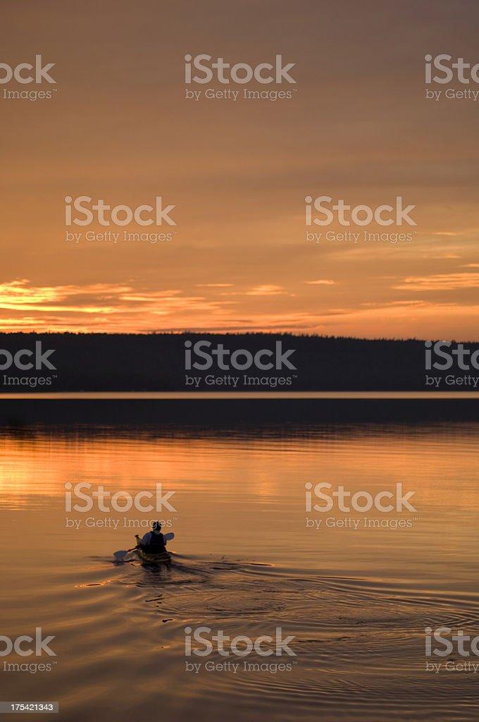 Kayak Adventure royalty-free stock photo