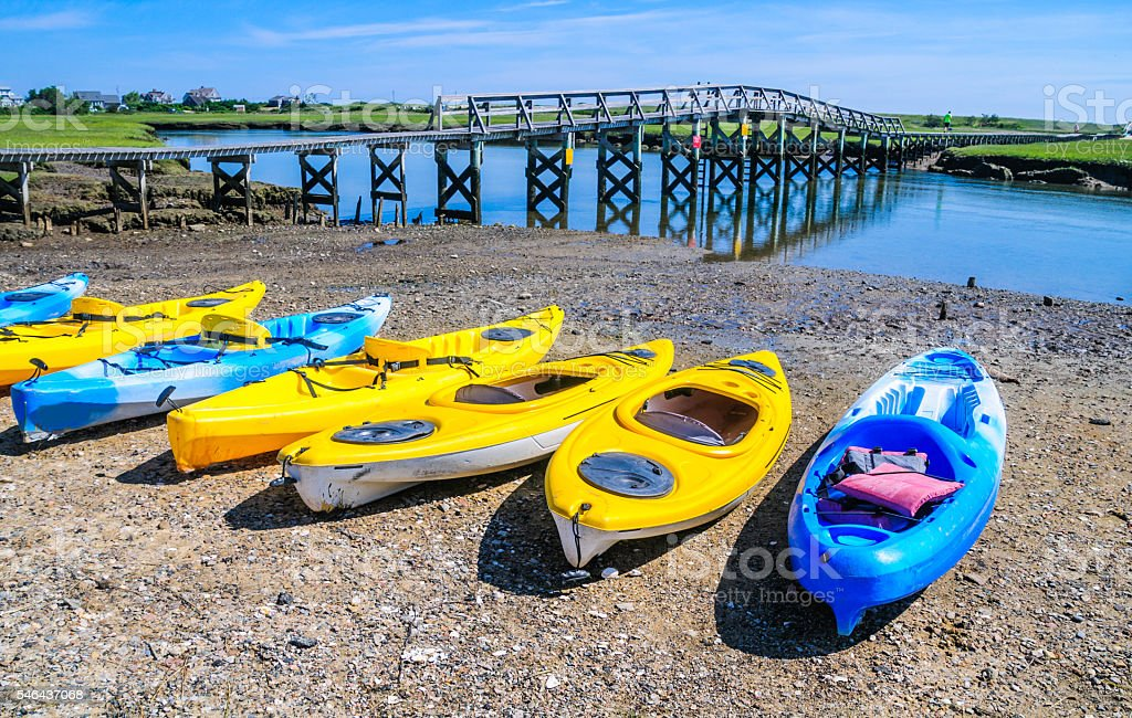 Kayak Array stock photo