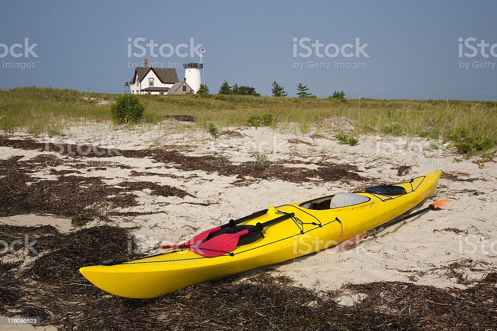 Kayak Cape Cod stock photo