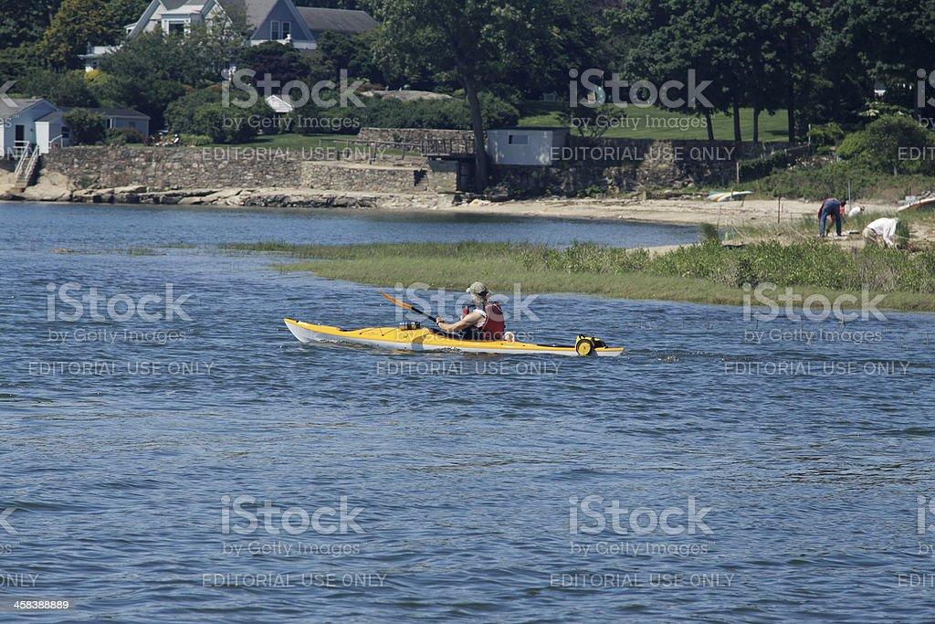 kayak day royalty-free stock photo