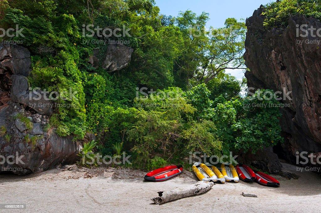 Kayak Paddle royalty-free stock photo