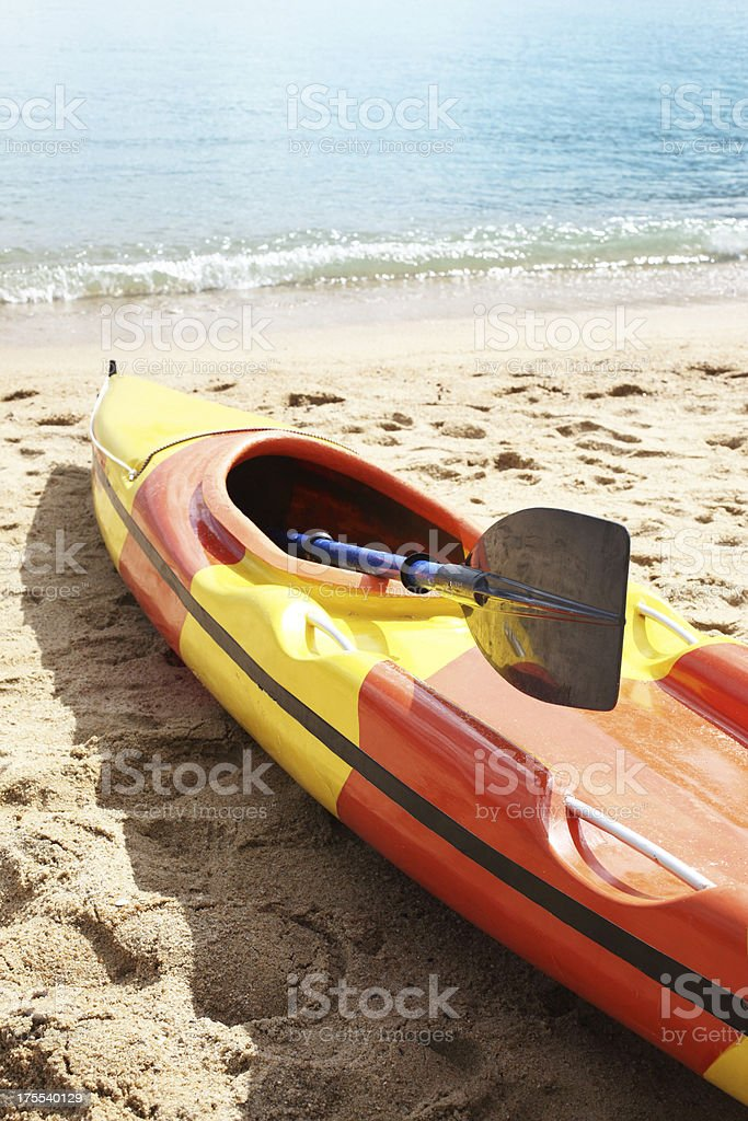 Kayak stock photo