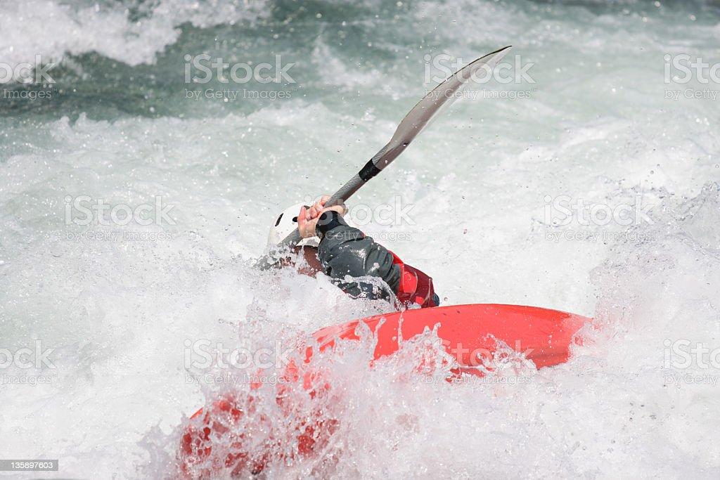 Kayak rodeo royalty-free stock photo