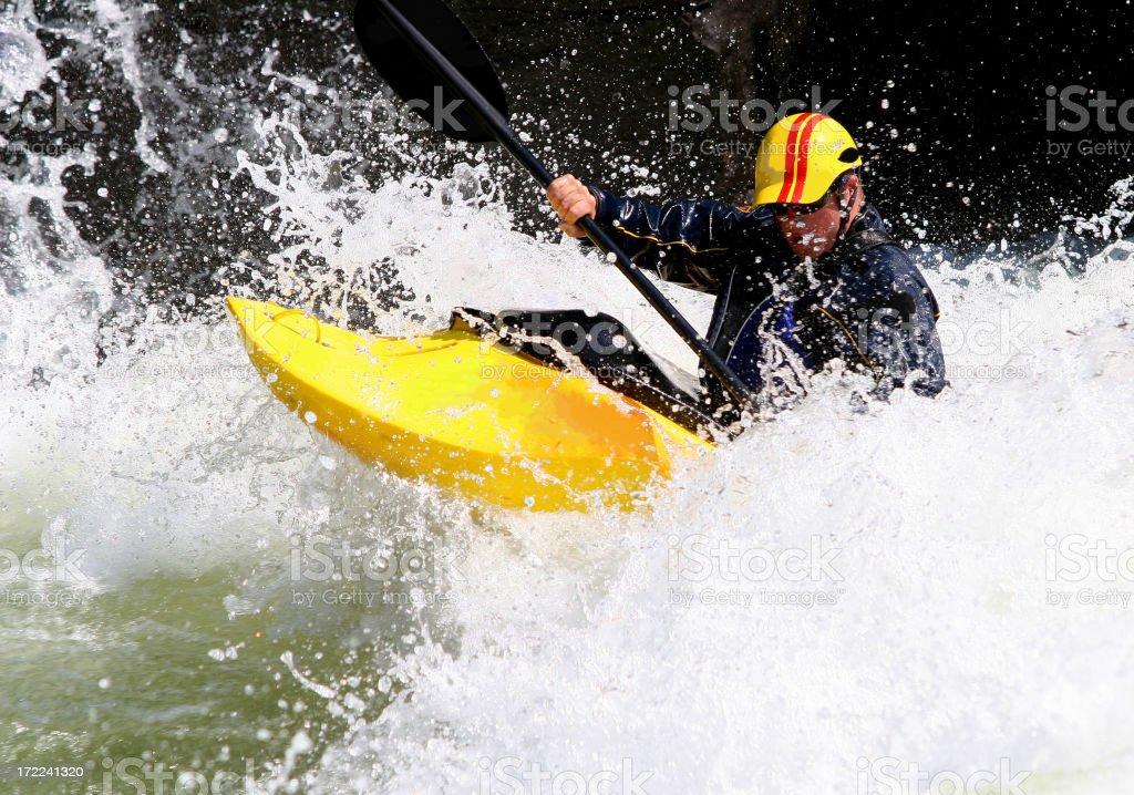 Kayaking Adventure royalty-free stock photo