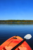 Kayaking in early Fall