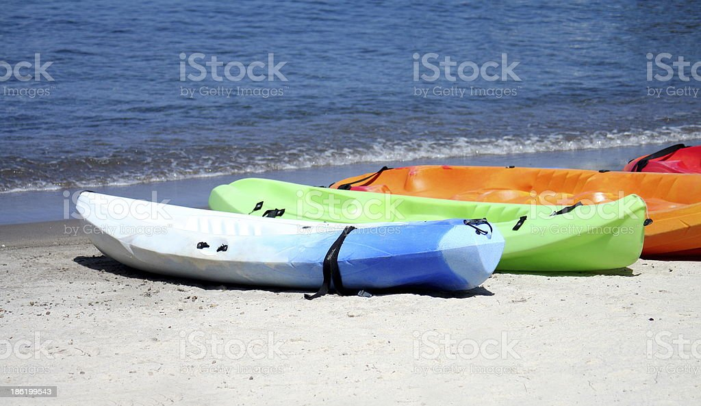 Kayaking in St Lucia royalty-free stock photo