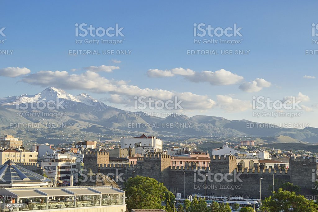Kayseri and stock photo