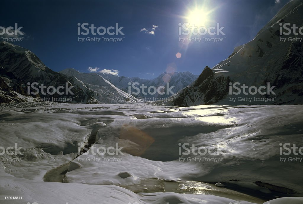 Kazakhstan. Tien Shan Mountains. royalty-free stock photo