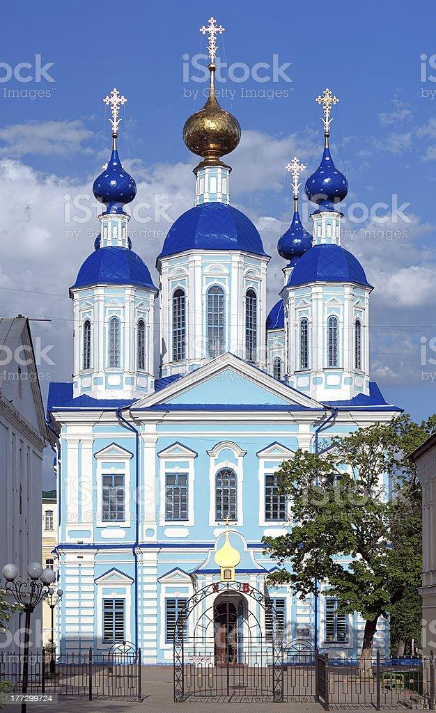 Kazan Cathedral in Tambov, Russia royalty-free stock photo
