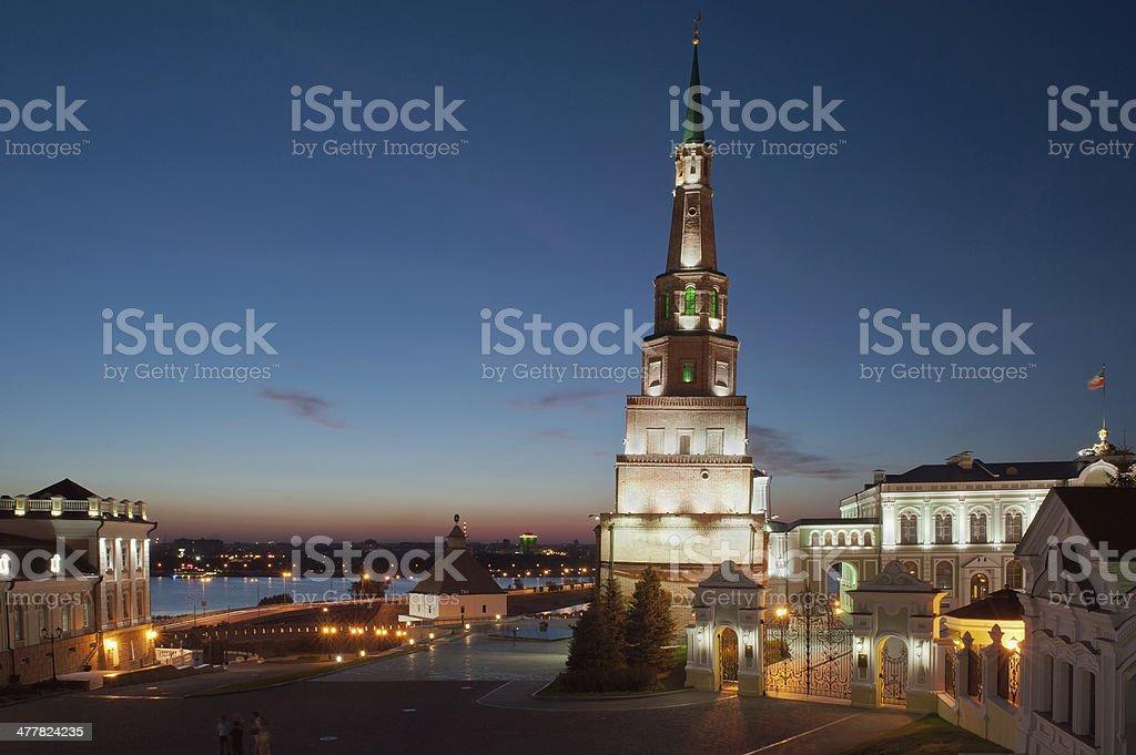 Kazan Kremlin. Russia royalty-free stock photo