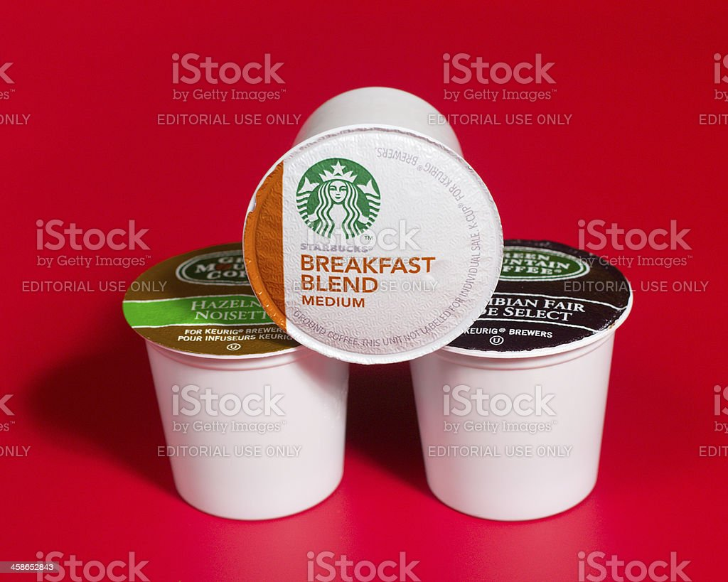 K-Cup Coffee Pods stock photo