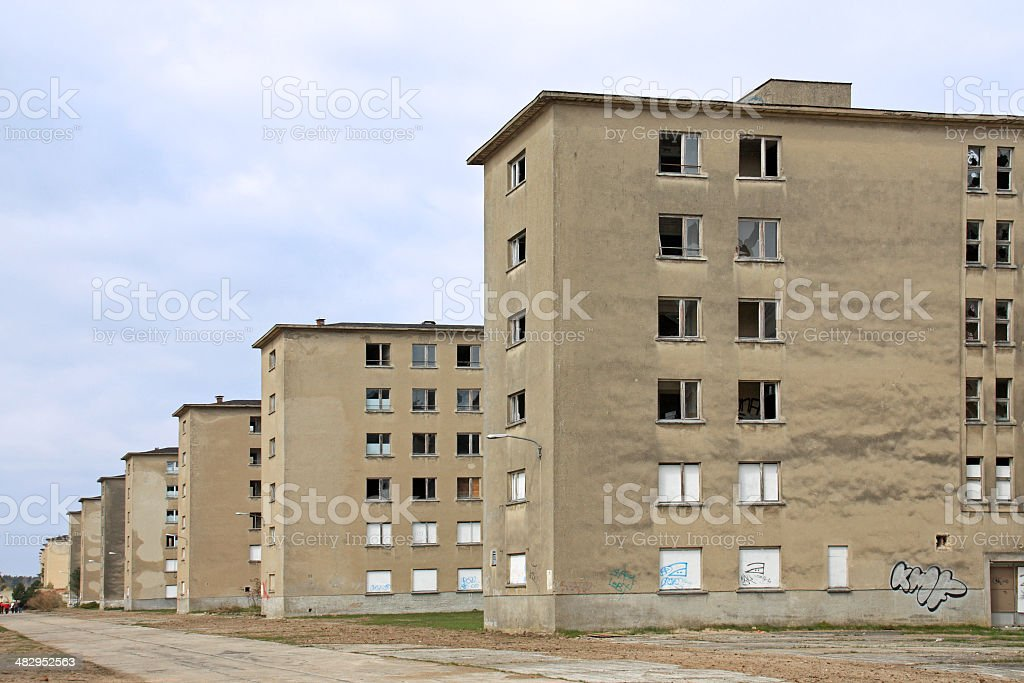 KdF seaside resort stock photo