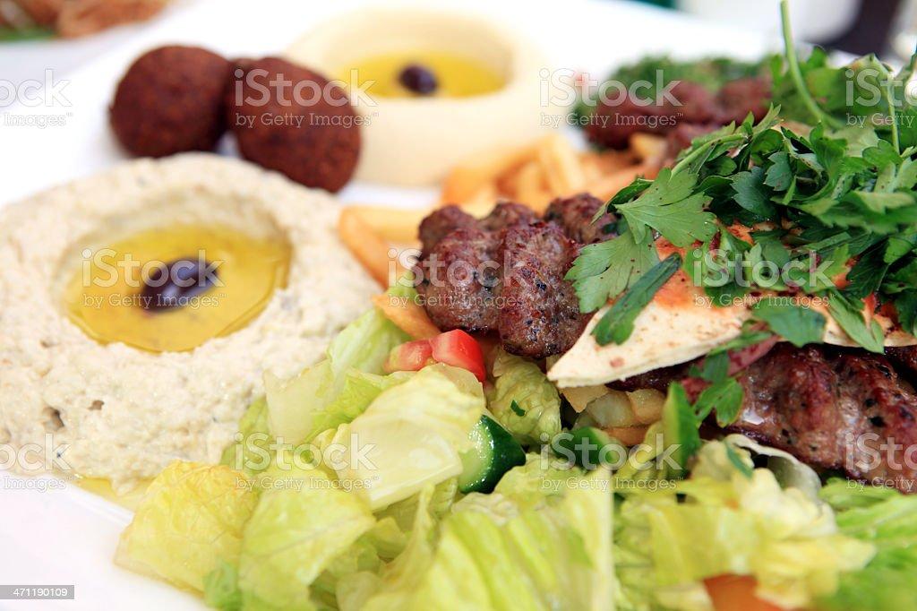 Kebab dish - XXXL stock photo