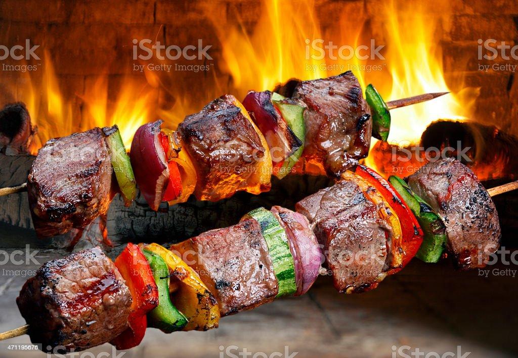 Kebab stock photo