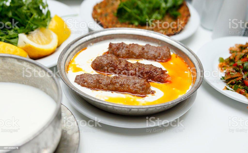 Kebab XXXL stock photo
