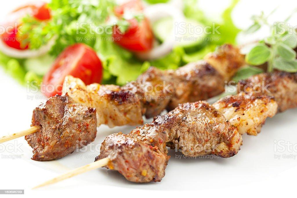 Kebabs stock photo