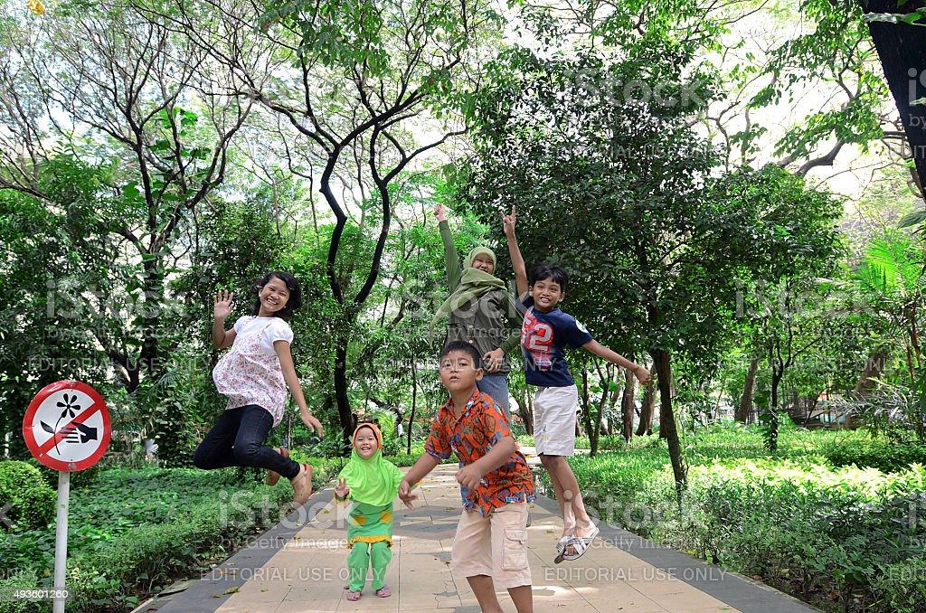 Kebun Bibit Surabaya, Indonesia stock photo