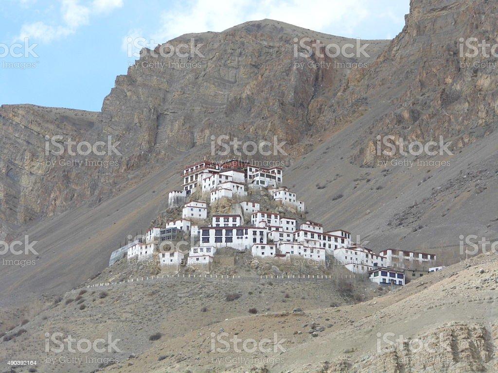 Kee Monastery stock photo