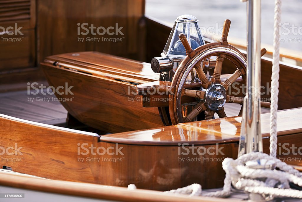 Keel and Compass. Color Image stock photo