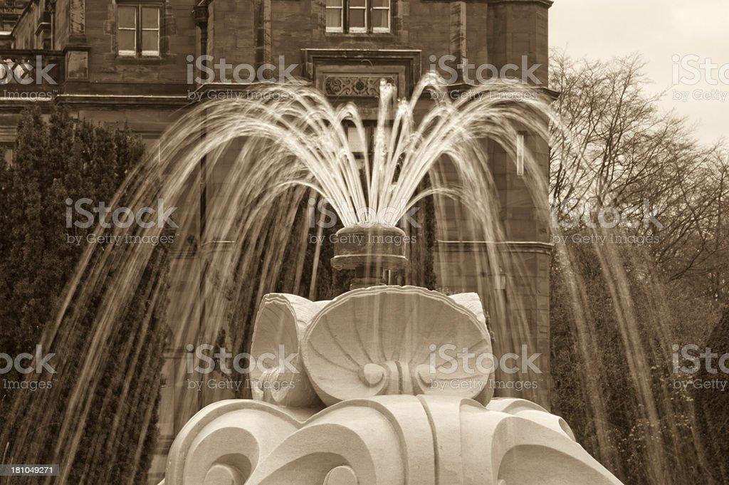 Keele University royalty-free stock photo