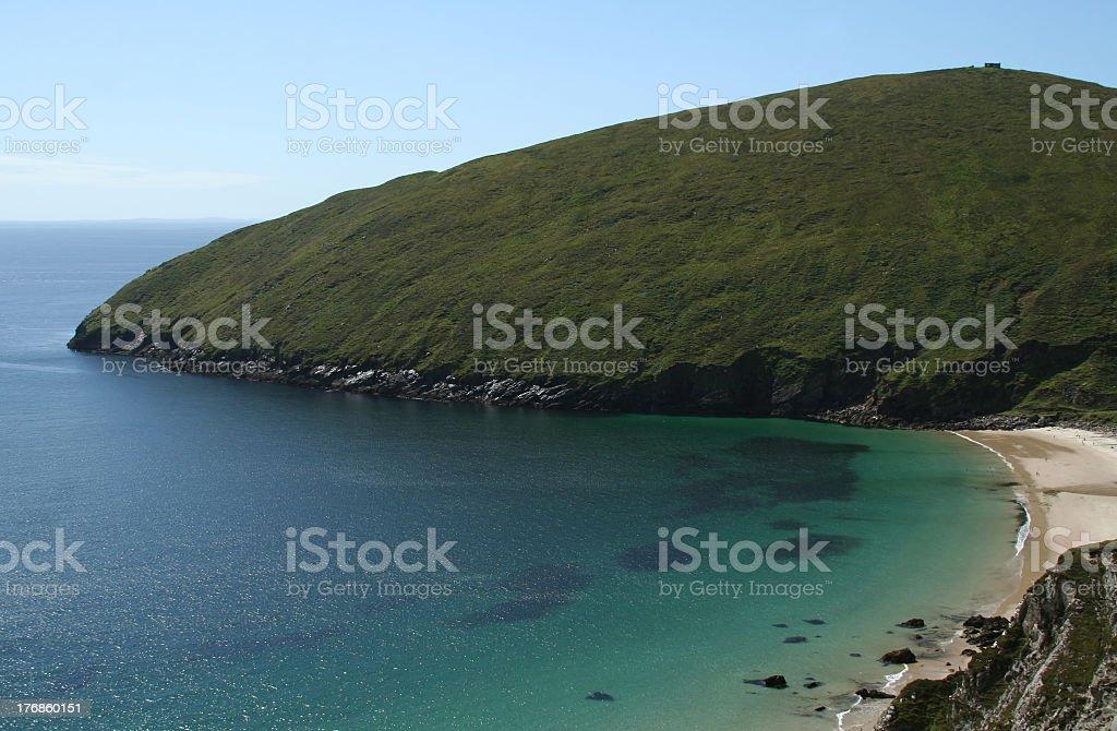 Keem Bay, Achill Island, County Mayo, Ireland stock photo