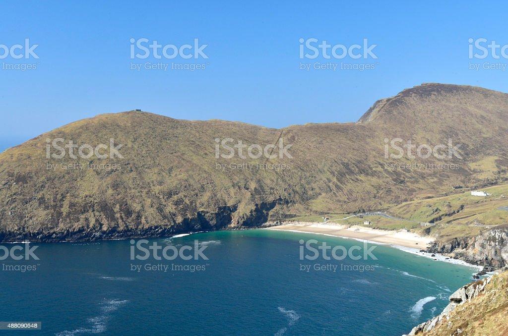 Keem Bay, Achill Island stock photo