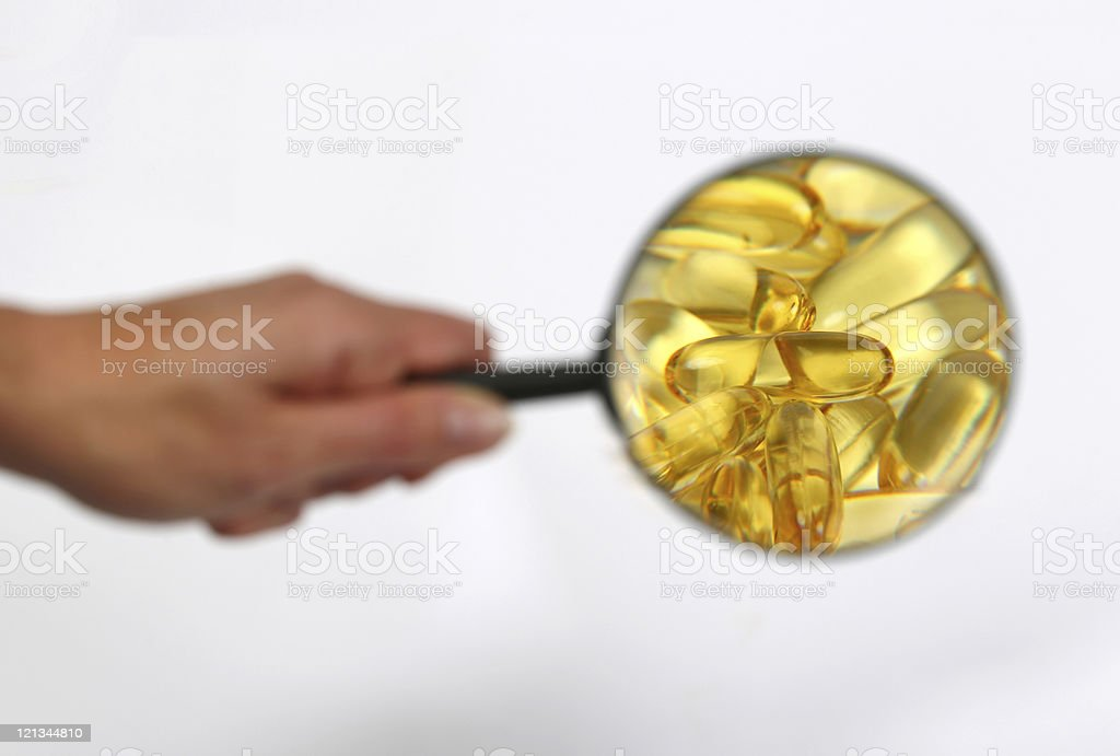 Keep A Close Eye On Your Health royalty-free stock photo